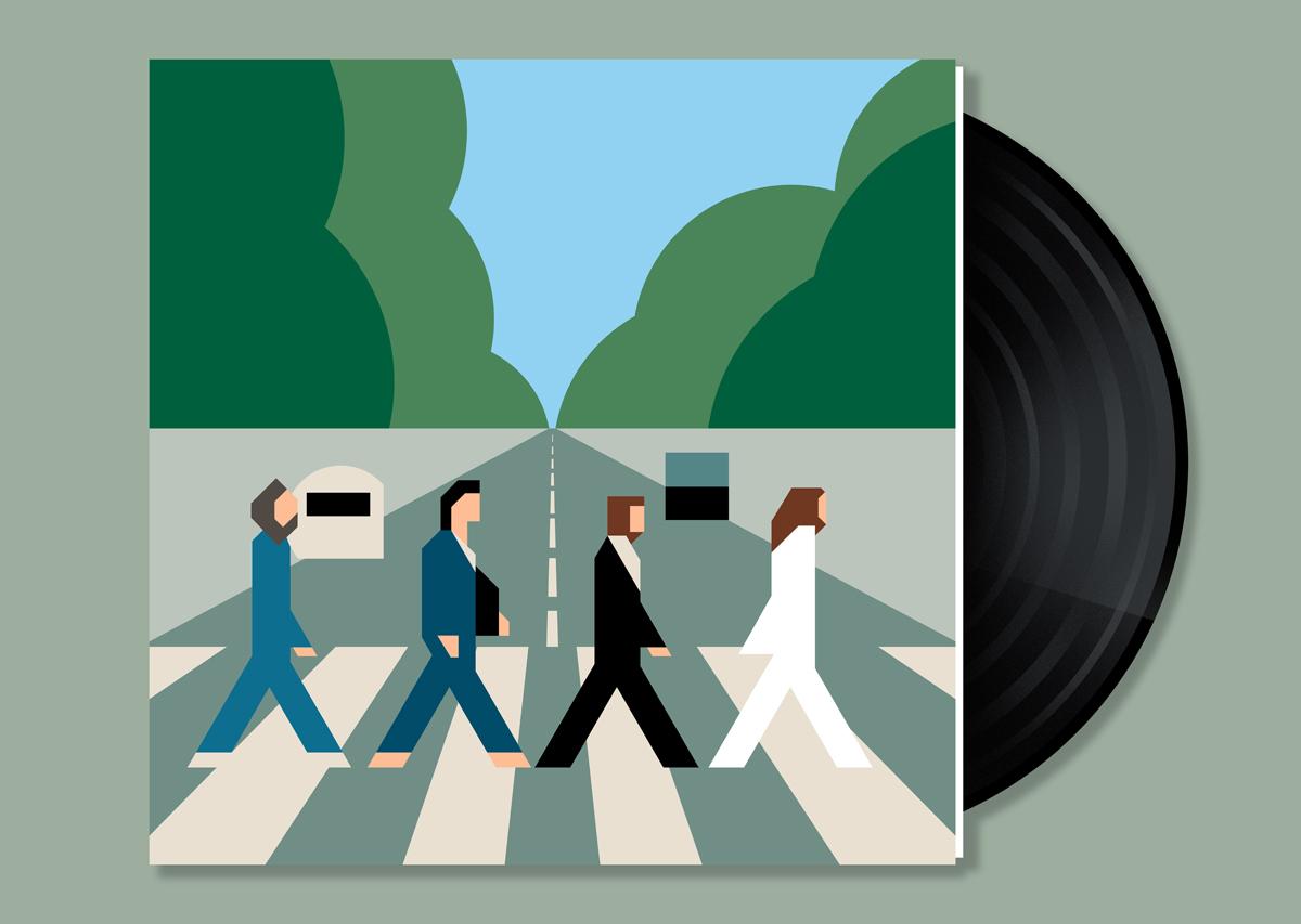ICONIC ALBUM COVERS